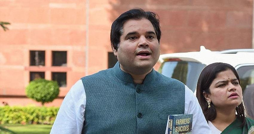 bjp mp varun gandhi supports farmers protest kmbsnt