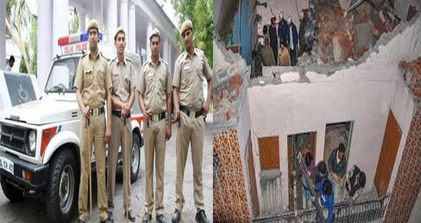 delhi-bhajanpura-roof-collapsed-police-take-action