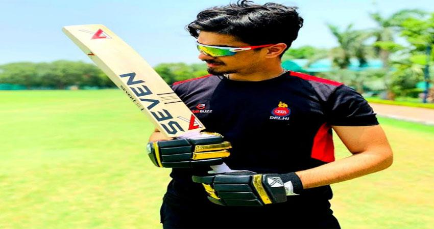 big hopes in cricket from delhi''''s moksh murgai musrnt