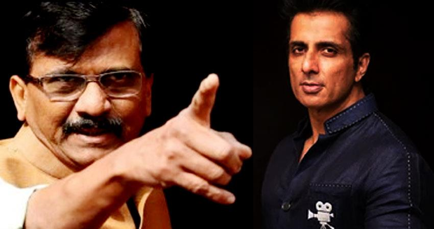 sonu sood calrifies he will not join politics on sanjay raut statement saamana aljwnt