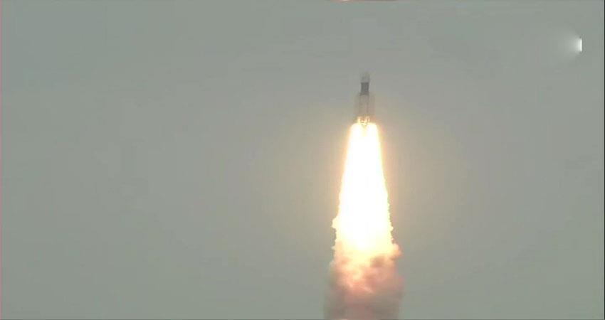 #chandrayaan2 lifts off from sriharikota centre #isro