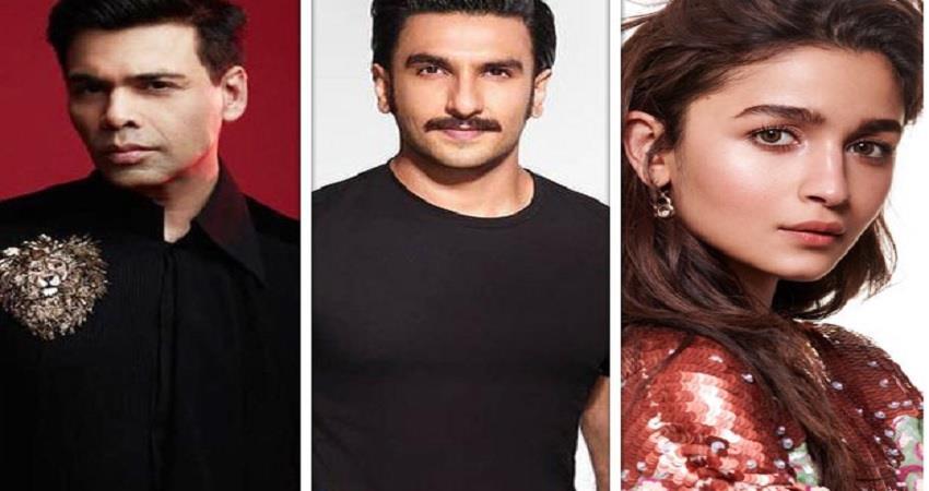 karan johar announce new project rocky aur rani ki prem kahani with alia and ranveer