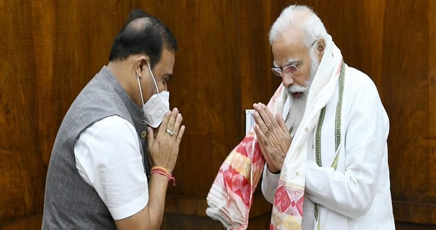 pm-modi-spoke-to-the-cm-of-assam-inquired-about-the-flood-situation-in-the-state-prshnt