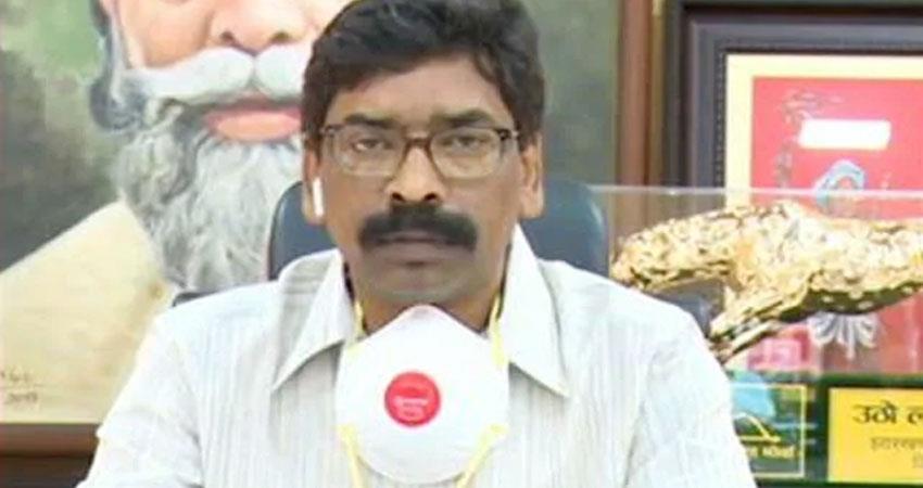 Jharkhand Corona rules if wearing masks will be fined 1 lakh prshnt