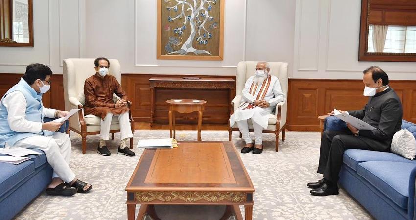cm-uddhav-thackeray-met-pm-modi-discussed-the-issue-of-maratha-reservation-gst-prshnt