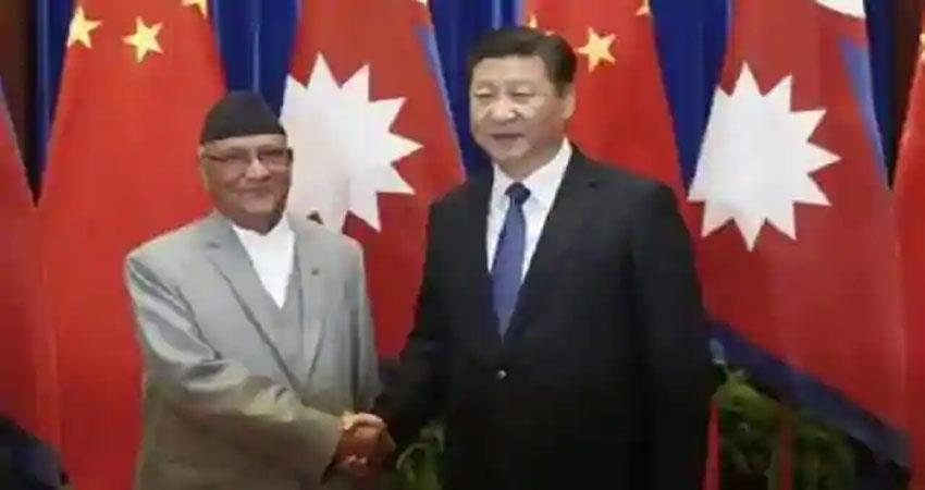 nepal could not escape from the crooked eye of china seized 10 areas albsnt