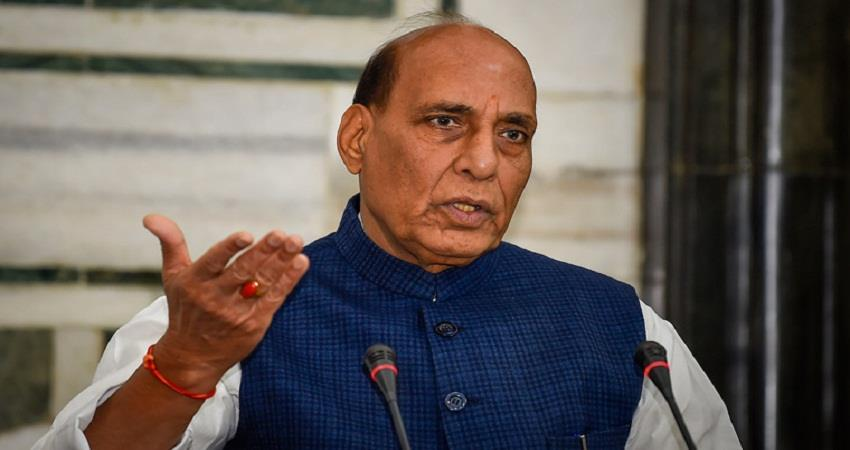 rajnath singh said india is committed to protecting its sovereignty and territorial integrity sohsnt