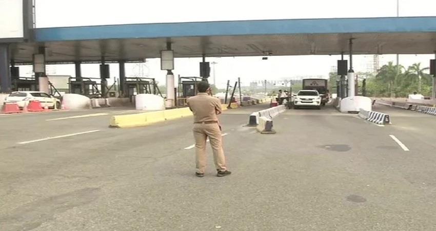 Delhi Traffic Police Closed 5 borders of Delhi KMBSNT
