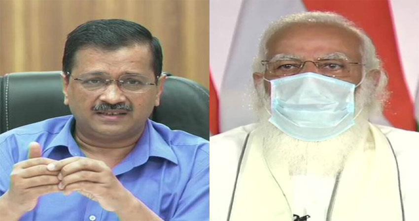 kejriwal expresses gratitude to pm for oxygen musrnt