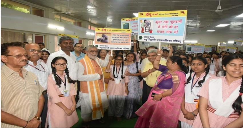 dengue-chikangunia awareness programme by ashwini kumar
