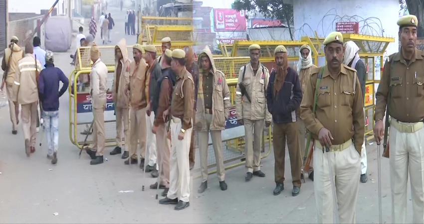 security tightened in ayodhya on babri masjid demolition anniversary