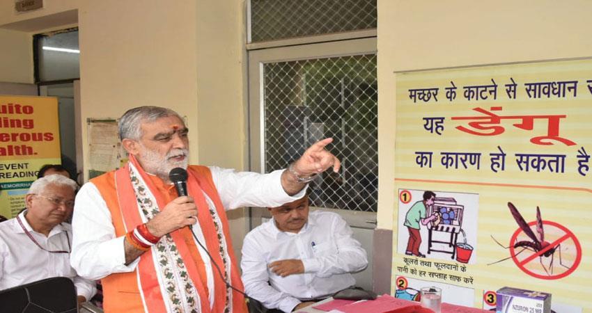 ashwini chaubey mission against dengue- chikangunia