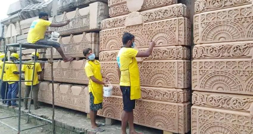 cleaning-of-stones-in-ram-temple-in-ayodhya-starts-delhi-s-company-gets-responsibility-prshnt