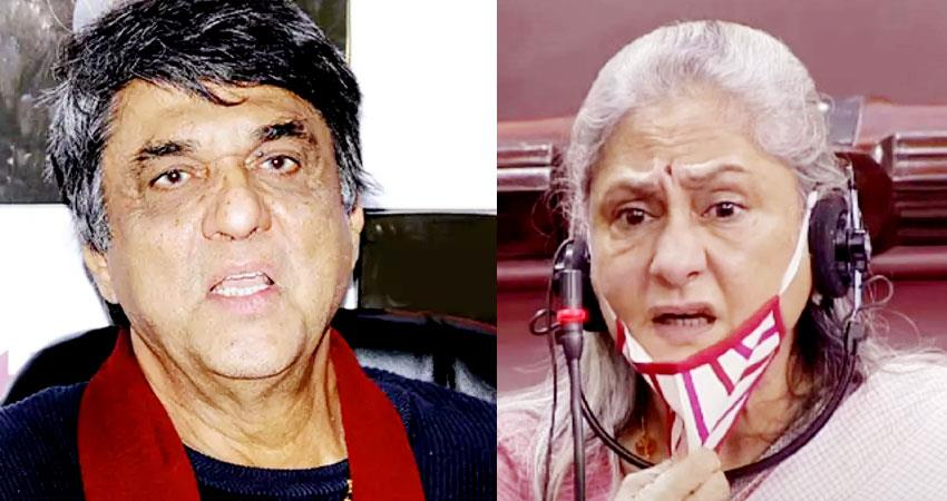 mukesh khanna attacks on jaya bachchan thali statement you have not given us food aljwnt