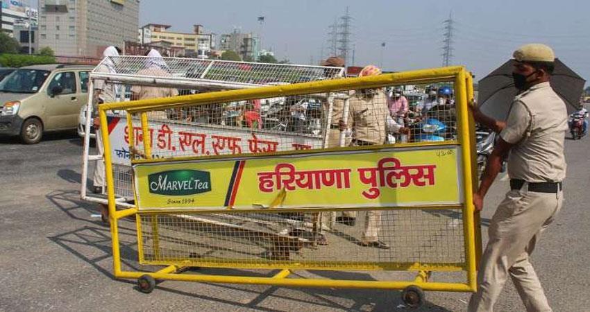 due to late ''''lockdown situation of corona in haryana worsens musrnt