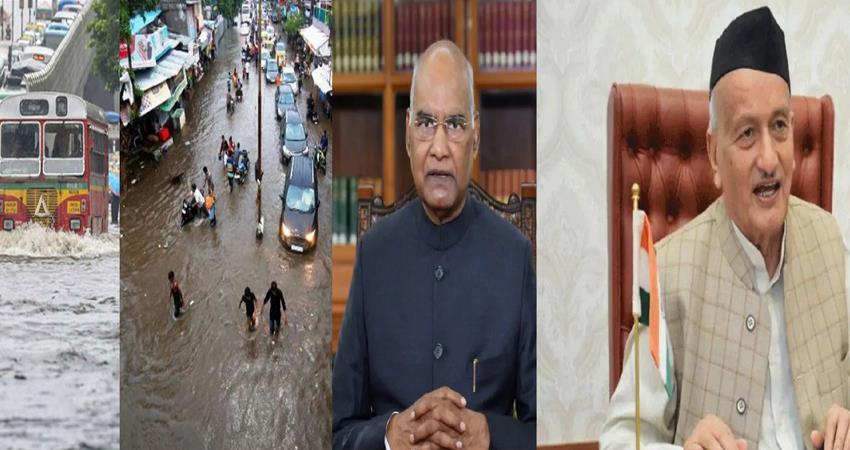 maharashtra rain and floods president kovind spoke to the governor of maharashtra prshnt