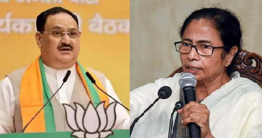 jp nadda attack on mamata banerjee said west bengal govt is anti-humanism pragnt