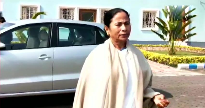 mamta banerjee attacks bjp calls jnuviolence fascist surgical strike