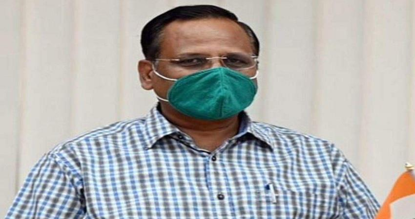 health minister satyendar jain 1000 icu beds available in delhi death rate down pragnt