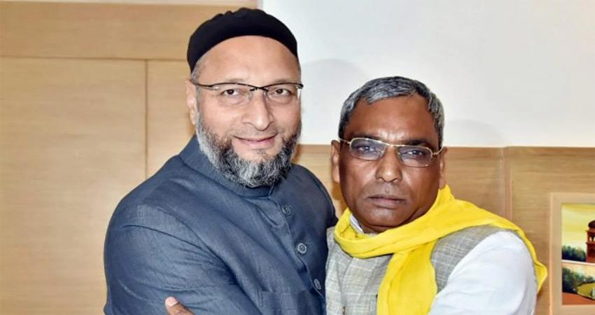 owaisi will try bihars political recipe in up reached varanasi albsnt