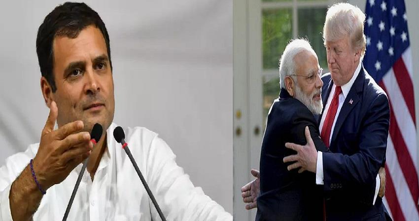 covid19 rahul gandhi tweet donald trump reaction on hydroxychloroquine pragnt