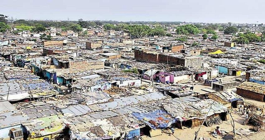 coronavirus impact low on slum areas sohsnt