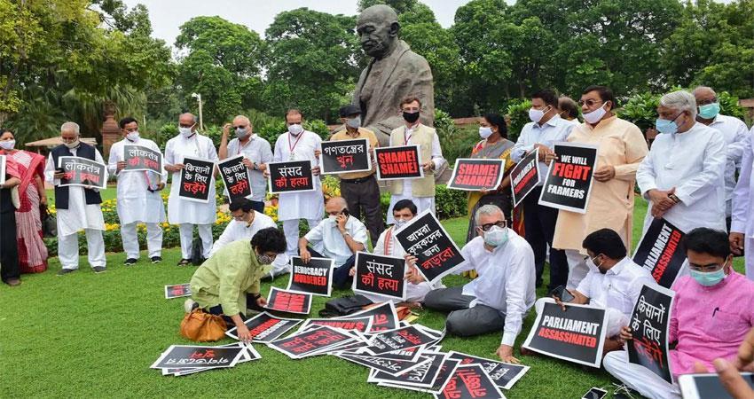 agriculture bill ram nath kovind rajyasabha opposition meeting president sobhnt