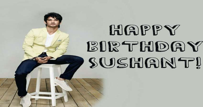 fans trend one day for ssr birthday for sushant singh rajput birthday sosnnt