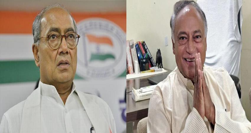 congress leader digvijay singh brother laxman singh statement against rahul gandhi
