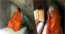 केदारनाथ की पूजा के बाद पवित्र गुफा में ध्यान करने पहुंचे PM मोदी