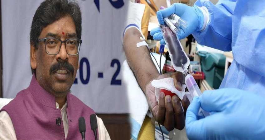 after delhi jharkhand treated with plasma therapy coronavirus pragnt