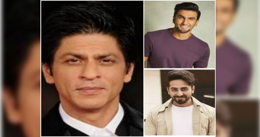 Shahrukh, Ranveer and Ayushmann are most trusted actors of India in education sector ANJSNT