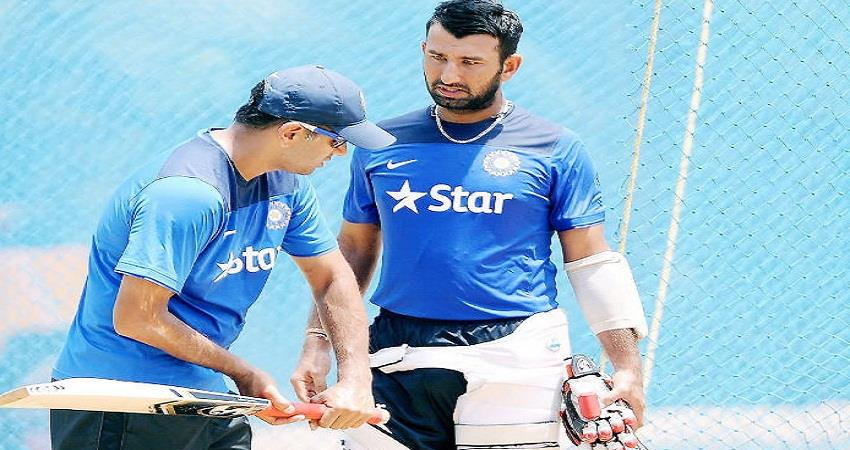 pujara said rahul dravid spoke about the importance of diverting attention from cricket sohsnt