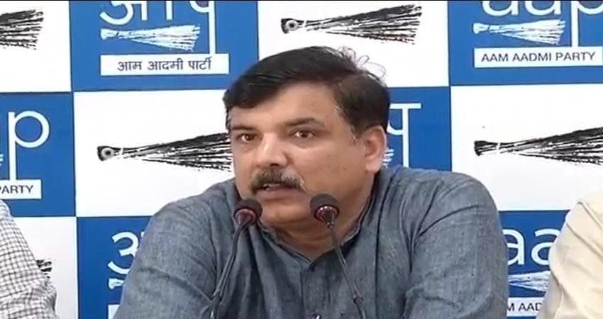 Delhi Anaj mandi Fire Sanjay singh Question to MCD Illegal Factory