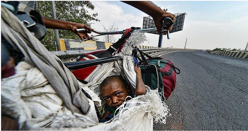 corona virus covid 19 lockdown migrant worker sobhnt