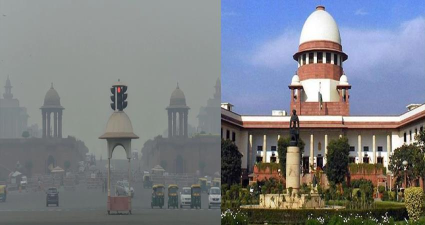 supreme court on air pollution central government delhi government punjab haryana
