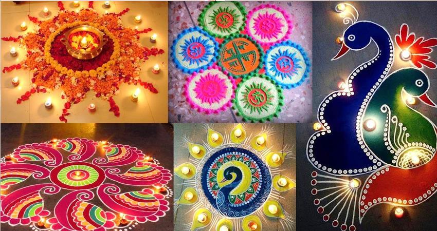 diwali 2020 rangoli made in this way mother lakshmi will visit home prshnt