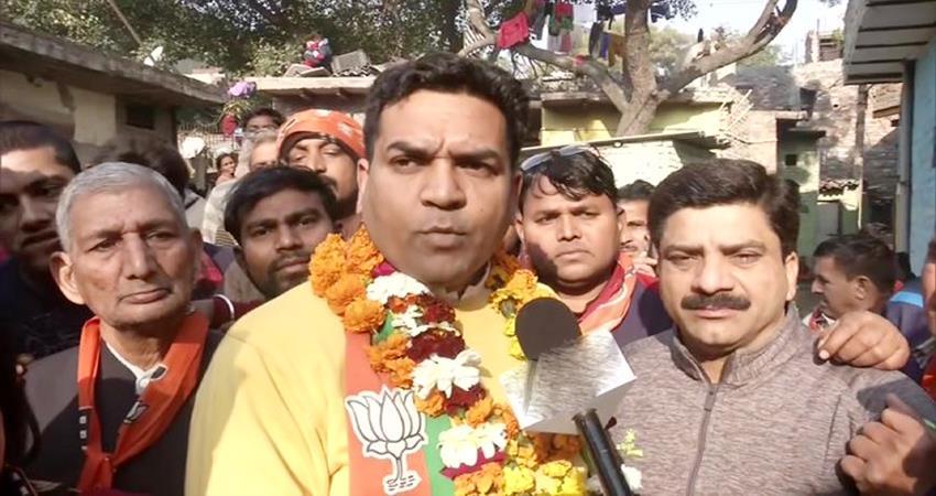 delhi election shaheen bagh ec ban bjp candidate kapil mishra campaigning