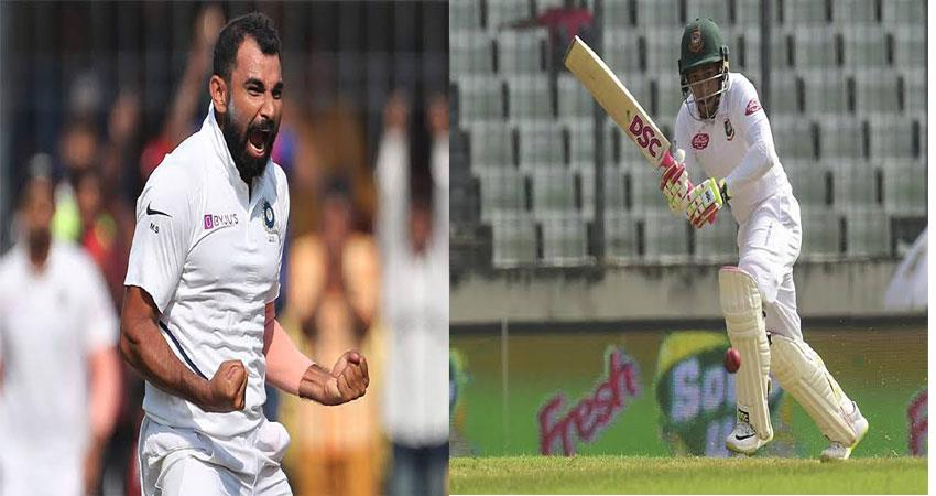bangladesh 60 runs for four wickets, india is headed for a big win