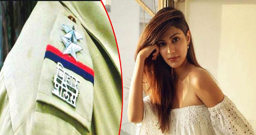 bihar police may issue lookout notice against  rhea chakraborty anjsnt