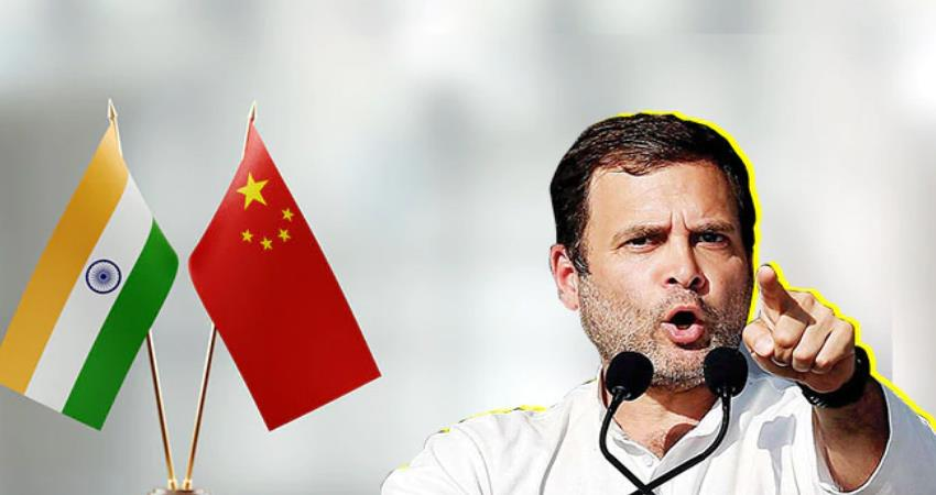 rahul attacked modi said china occupied 1200 sq km land why didnot pm say pragnt