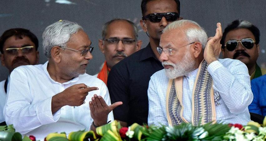 nitish specializes in making the enemy a friend at right time musrnt