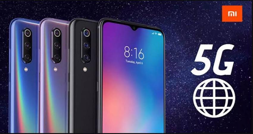 xiaomi 5g smart phones