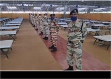 दिल्ली का सबसे बड़ा कोविड-19 देखभाल केंद्र तैयार, ITBP ने जिम्मा संभाला