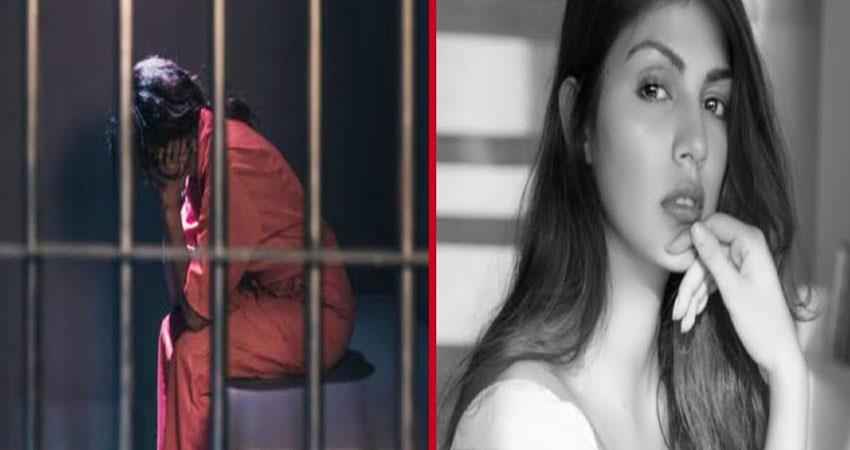 rhea chakraborty in jail daily routine anjsnt