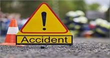 वाहन दुर्घटना में दो लोगों की मौत