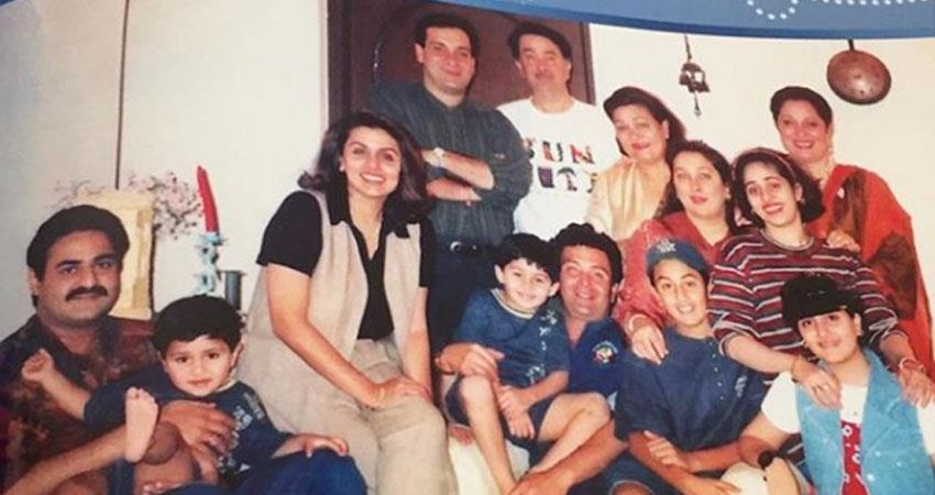 armaan Jain shares the throwback photo of Kapoor family sosnnt