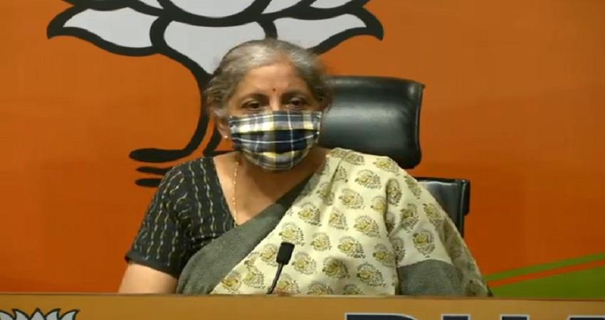nirmala sitharaman on free covid vaccine said this announcement is absolutely right pragnt