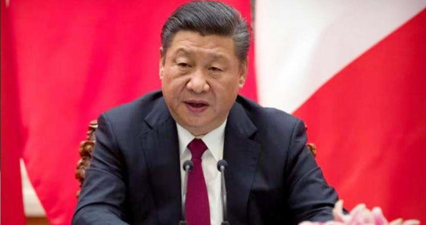 Time and wind turn in favor of China in era of unprecedented turmoil President Xi Jinping prshnt