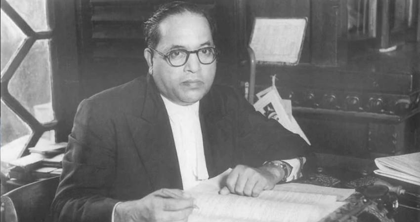 if ambedkar was present today he would have been in jail due to the up ordinance aljwnt